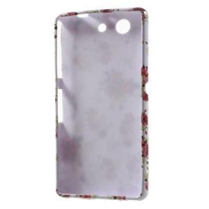 Gélový obal pre Sony Xperia Z3 mini - roses - 5