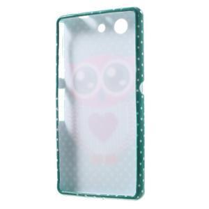 Gélový obal pre Sony Xperia Z3 mini - zamilovaná sova - 5