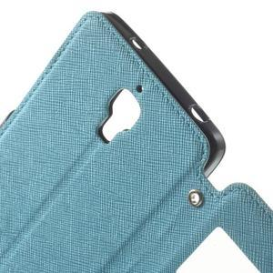 Root puzdro s okienkom pre Xiaomi Mi4 - svetlo modré - 5