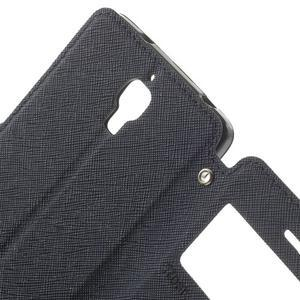 Root puzdro s okýnkem pre Xiaomi Mi4 - tmavo modré - 5
