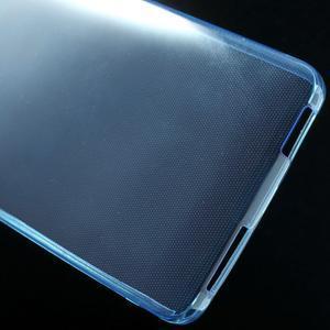 Ultratenký slim gélový obal pre Xiaomi Mi4 - modrý - 5
