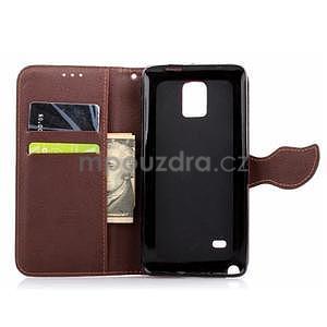 Peňaženkové puzdro s pútkom na Samsung Galaxy Note 4 -  zelené - 5