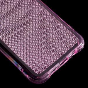 Diamonds gelový obal na Samsung Galaxy A3 (2016) - růžový - 5