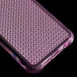 Diamonds gélový obal pre Samsung Galaxy A3 (2016) - ružový - 5/5
