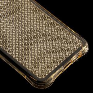 Diamonds gélový obal pre Samsung Galaxy A3 (2016) - zlatý - 5