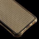 Diamonds gélový obal pre Samsung Galaxy A3 (2016) - zlatý - 5/5