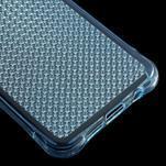 Diamonds gélový obal pre Samsung Galaxy A3 (2016) - modrý - 5/5