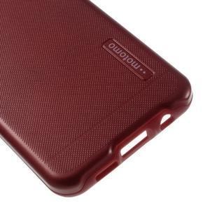 Odolný ochranný obal 2v1 pre mobil Samsung Galaxy A3 (2016) - červený - 5
