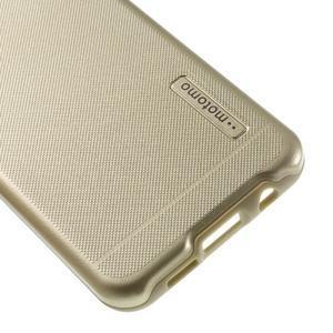 Odolný ochranný obal 2v1 pre mobil Samsung Galaxy A3 (2016) - zlatý - 5