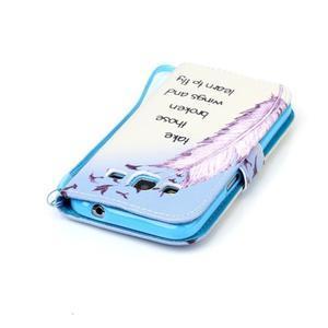 Pictu puzdro pre mobil Samsung Galaxy Core Prime - ptáčkové - 5