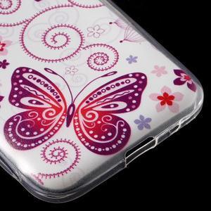 Ultratenký slim obal pre Samsung Galaxy Core Prime - motýlek - 5