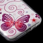 Ultratenký slim obal pre Samsung Galaxy Core Prime - motýlek - 5/5