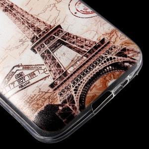 Ultratenký slim obal na Samsung Galaxy Core Prime - Eiffelova věž - 5