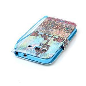 Pictu pouzdro na mobil Samsung Galaxy Core Prime - sloni - 5