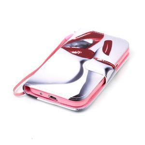 Pictu puzdro pre mobil Samsung Galaxy Core Prime - pery - 5