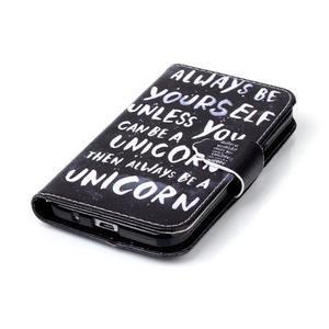 Emotive peňaženkové puzdro pre Samsung Galaxy Core Prime - unicorn - 5