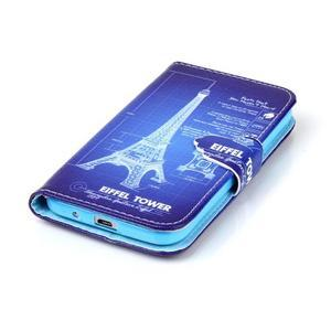 Emotive peňaženkové puzdro pre Samsung Galaxy Core Prime - Eiffelova veža - 5