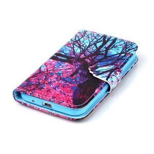 Emotive peňaženkové puzdro pre Samsung Galaxy Core Prime - strom - 5