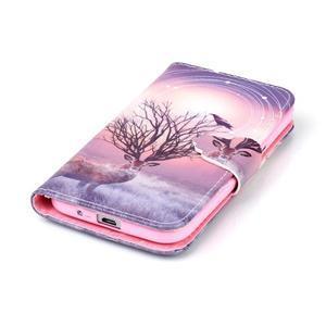 Emotive peněženkové pouzdro na Samsung Galaxy Core Prime - mystický jelen - 5
