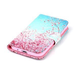 Emotive peněženkové pouzdro na Samsung Galaxy Core Prime - kvetoucí švestka - 5
