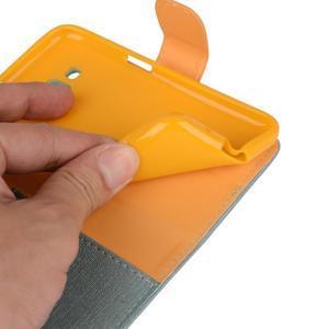 Covers puzdro pre mobil Samsung Galaxy Core Prime - svetlomodré - 5