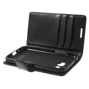 Moonleather PU kožené puzdro pre Samsung Galaxy Core Prime - čierne - 5
