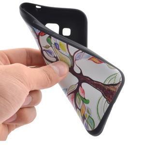 Hardy gélový obal pre mobil Samsung Galaxy Core Prime - malovaný strom - 5