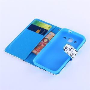Standy peněženkové pouzdro na Samsung Galaxy Core Prime - kotvy - 5