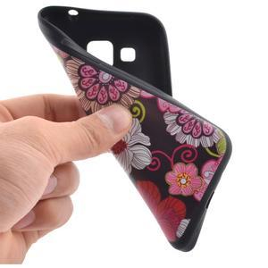 Hardy gélový obal pre mobil Samsung Galaxy Core Prime - kvetinová koláž - 5