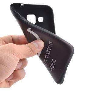 Hardy gelový obal na mobil Samsung Galaxy Core Prime - nedotýkat se - 5