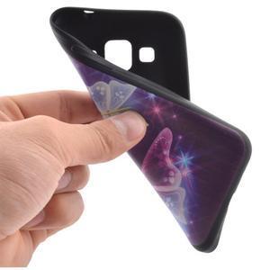 Hardy gélový obal pre mobil Samsung Galaxy Core Prime - čarovné motýle - 5