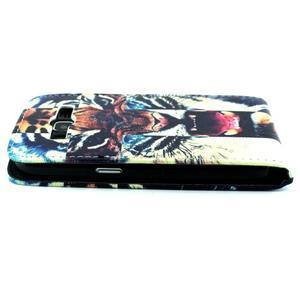 Flipové pouzdro na mobil Samsung Galaxy Core Prime - tygr - 5
