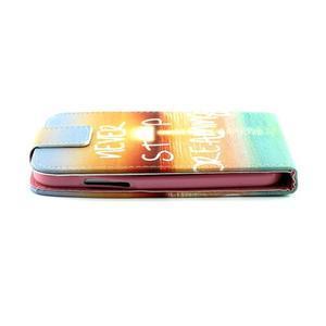 Flipové puzdro pre mobil Samsung Galaxy Core Prime - neprestávaj  snívať - 5