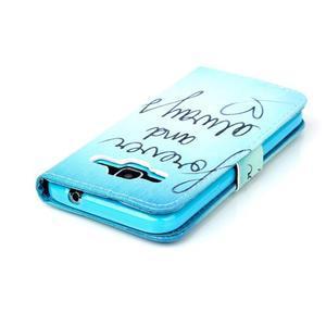 Knížkové pouzdro na Samsung Galaxy Core Prime - love - 5
