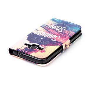 Knížkové puzdro pre Samsung Galaxy Core Prime - letná story - 5