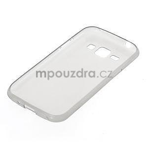 Ultra tenký obal pre Samsung Galaxy J1 - šedý - 5