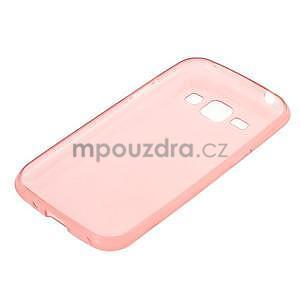 Ultra tenký obal pre Samsung Galaxy J1 - ružový - 5