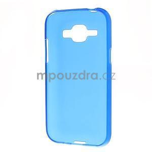 Modrý matný kryt pre Samsung Galaxy J1 - 5