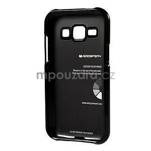 Čierny gélový obal pre Samsung Galaxy J1 - 5