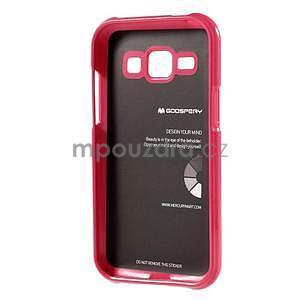 Rose gélový obal na Samsung Galaxy J1 - 5