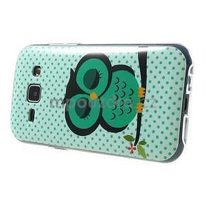 Gélový kryt pre Samsung Galaxy J1 - sova - 5