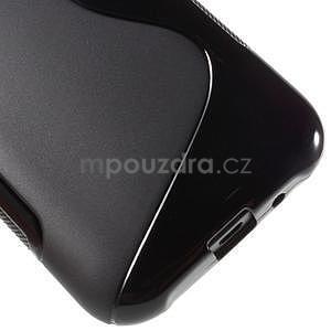 Čierny gélový s-line obal Samsung Galaxy J1 - 5