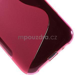 Rose gélový s-line obal Samsung Galaxy J1 - 5