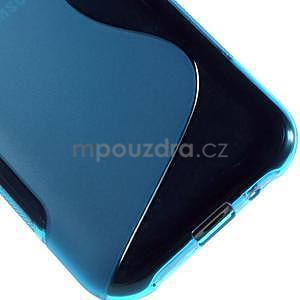 Modrý gélový s-line obal Samsung Galaxy J1 - 5