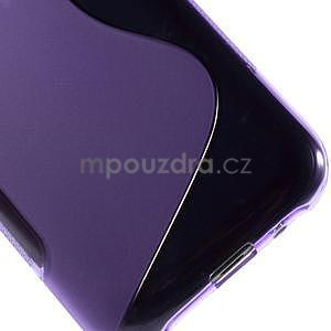Fialový gélový s-line obal Samsung Galaxy J1 - 5
