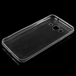 Transparentní ultratenký gelový obal na Samsung Galaxy J3 (2016) - 5