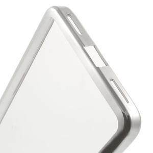Gelový obal se stříbrným obvodem na Samsung Galaxy J3 (2016) - 5