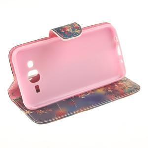 Standy peňaženkové puzdro pre Samsung Galaxy J5 - jesenné zátiší - 5