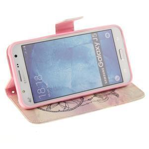 Standy peňaženkové puzdro pre Samsung Galaxy J5 - dream - 5