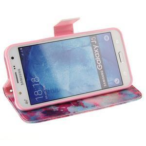 Standy peňaženkové puzdro pre Samsung Galaxy J5 - malba - 5